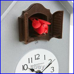 216 aluminum Wall Contemporary Clock Cuckoo Pendulum