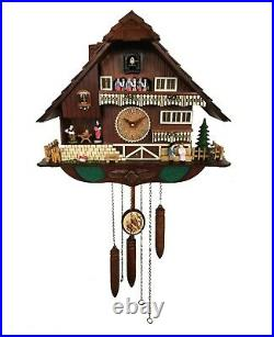 A18KCKW2625MD Kaiser Chalet style Cuckoo Clock