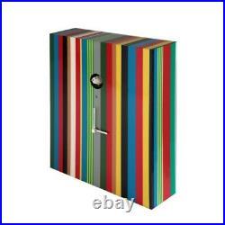 ARCOIRIS 223A multicolor Cuckoo Wall and Table Clock