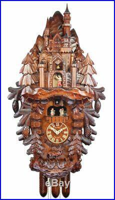 Adolf Herr Cuckoo Clock Neuschwanstein Castle AH 10/1 8TMT NEW