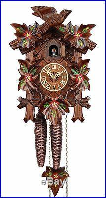 Adolf Herr Cuckoo Clock Spring Flowers AH 80/6 NEW