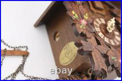 Adolf Herr Cuckoo Clock With Working (Made In Germany) missing bottom peice