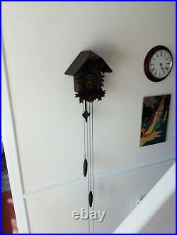 Antique Black Forest Cuckoo Clock c 1930