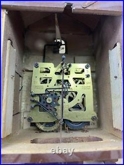 Beautiful Vintage HECO 8 DAY Wood Cuckoo Clock Made in Germany Parts Repair