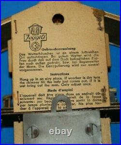 Beautiful Vintage Toggili German Cuckoo Clock For Parts or Repair