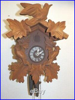 Black Forest Cuckoo Clock Clock 1950 1980 Nice Condition