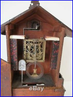 Black Forest Cuckoo mantle clock in great condition
