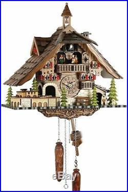 Black Forest House 41cm- Cuckoo Clock Cuckoo Clock Real Wood New