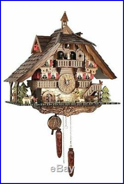 Black Forest House 50cm- Cuckoo Clock Cuckoo Clock Real Wood New Ba