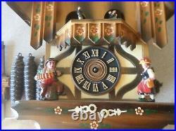 Black Forest Schmeckenbecher Musical Dancers Regula Cuckoo Clock PARTS REPAIR