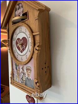 Bradford Exchange I LOVE LUCY Cuckoo Clock Ltd Edition
