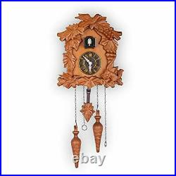 Brand New Kendal Handcrafted Wood Cuckoo Clock