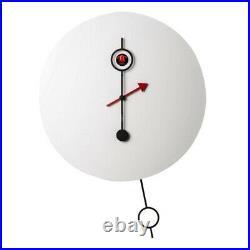 CI PASSO white New Cuckoo Wall Clock Diamantini Domeniconi