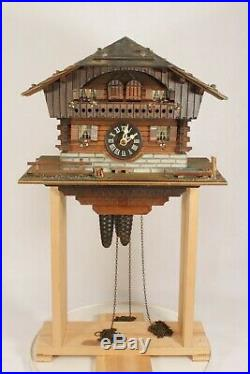 Chalet Style Black Forest Musical Wall Cuckoo Clock