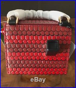 Collector's Bag NWT Kate Spade OOH LA LA Cuckoo Clock Leather Top Handle Bag