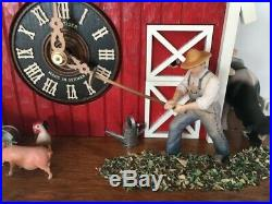 Cuckoo Clock American Barn Farmhouse 8-Day Movement with Music Limited Edition
