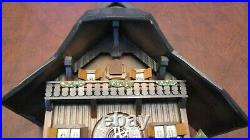Cuckoo Clock Black Forest 8 Day Original German Wood Chopper