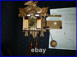 Cuckoo Clock, High Quality, All Wood, Fine Adjustment Pendulum, Night Shut Off