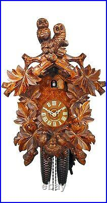 Cuckoo Clock Owls, Nest 2.5028.01. P NEW