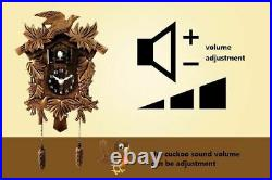 Cuckoo Clock Wall Watch Home Time Alarm Digital Needle Bedroom Decoration Clocks
