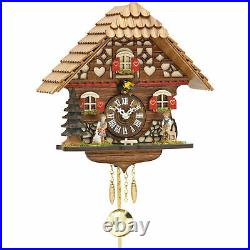 Cuckoo Clock with Quartz Movement Black Forest 2054PQ Heidi House Heidi Peter