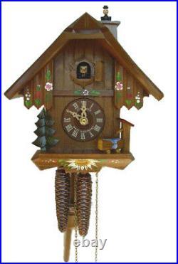 Cuckoo Schneider Chalet Forêt-noire Chimney Mechanical 1 Day 20cm 7063/10