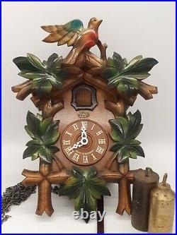 Cuckoo clock German 8 day traditional Schatz