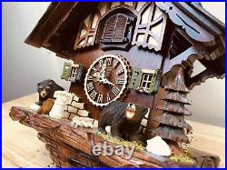 Cuckoo clock German Made Black Forest NEW