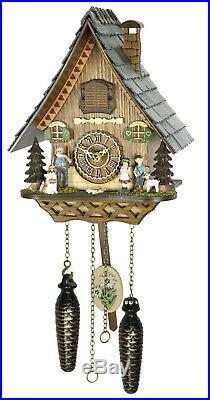 Cuckoo clock black forest house quartz german music 12 melodies Heidi House new
