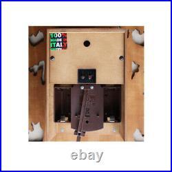 Diamantini&Domeniconi Designer Cucu/Cuckoo Clock, Teak, Large, BN, RRP £369