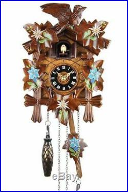 Eble -bemalt 22cm- Cuckoo Clock Cuckoo Clock Real Wood New Battery Powered