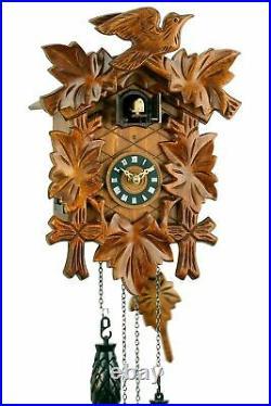 Eble -fünflaub 30cm- Cuckoo Clock Cuckoo Clock Real Wood New Every