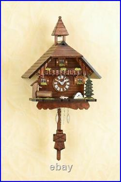 German Black Forest Cuckoo Clock Black Forest House Quartz movement cuckoo