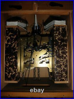 German Black Forest made Schatz Lg Case Linden Wood 8 Day Cuckoo Clock CK2645