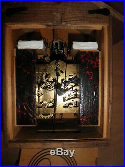 German Black Forest made Schatz Linden Wood 8 Day Cuckoo Clock CK2577