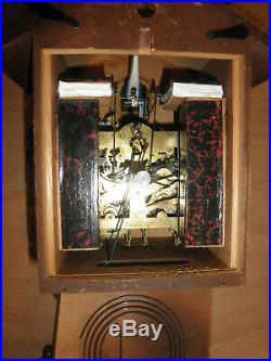 German Black Forest made Schatz Linden Wood 8 Day Cuckoo Clock CK2593B