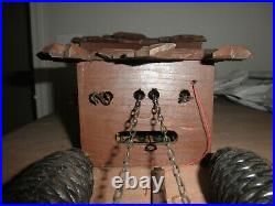 German Black Forest made Schatz Linden Wood 8 Day Cuckoo Clock CK2715