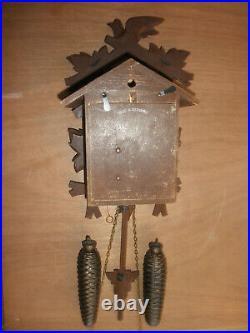 German Black Forest made Schatz Linden Wood 8 Day Cuckoo Clock CK2718