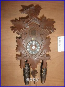 German Black Forest made Schatz Linden Wood 8 Day Cuckoo Clock CK2804B