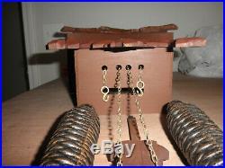 German Black Forest made Schmeckenbecher Linden Wood 8 Day Cuckoo Clock CK2595