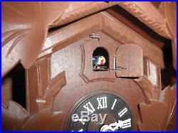 German Black Forest made working Herr Linden Wood 8 Day Cuckoo Clock CK2081