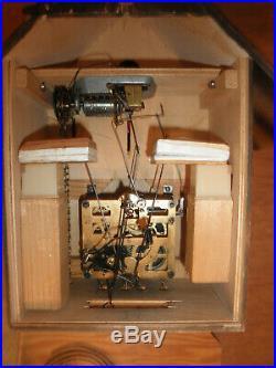 German made Vintage Musical Woodchopper 1 Day Cuckoo Clock CK2353A