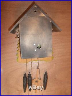 German made Vintage Musical Woodchopper 1 Day Cuckoo Clock CK2403