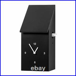 HALF TIME Amazing black cuckoo clock Diamantini and Domeniconi