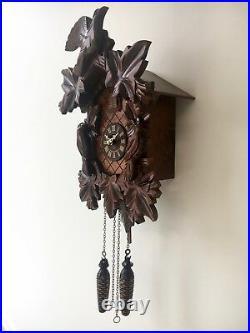 Hermle Villingen 44000 Cuckoo Clock Black Forest