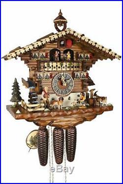 Hönes -heidi 43cm- 86214T Cuckoo Clock Original Black Forest Real Wood