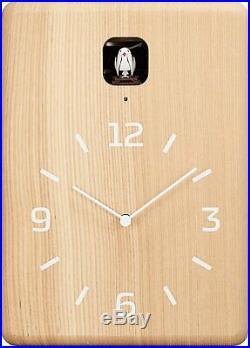 Lemnos CUCU Cuckoo Wall Clock Natural LC10-16 NT Japan F/S