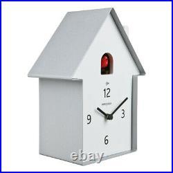 MERIDIANA 220 aluminum Original Wall Clock with Cuckoo by Diamantini Domeniconi