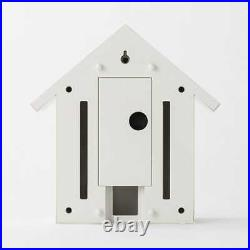 MUJI CUCKOO CLOCK WHITE LARGE With box and instructions