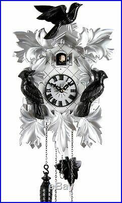 Modern Style 35cm- Cuckoo Clock Cuckoo Clock Real Wood New Batter